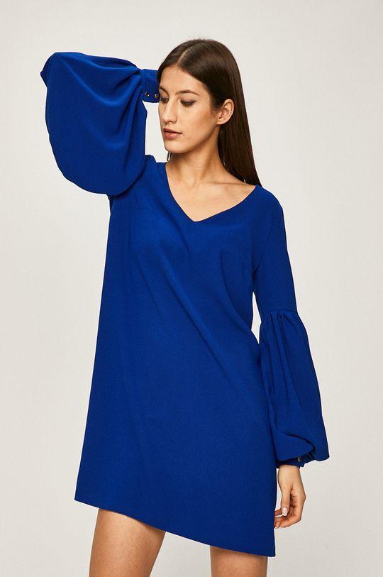 albastru Answear - Rochie