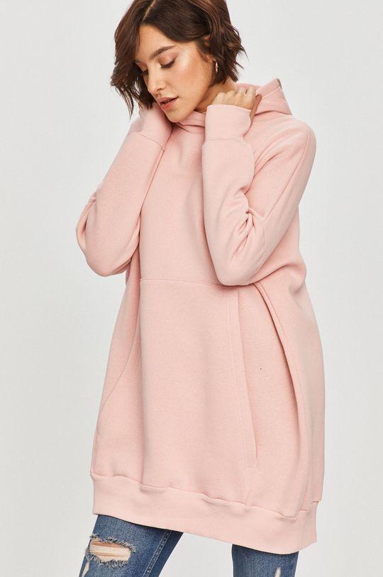 różowy Answear Lab - Bluza Damski