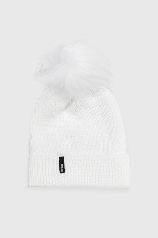 biały Answear Lab - Czapka Damski