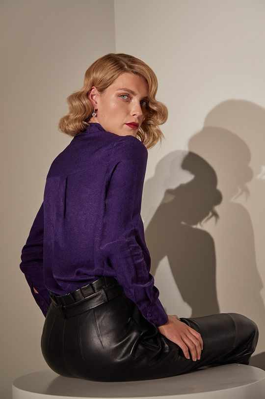answear.LAB limited collection - Camasa violet