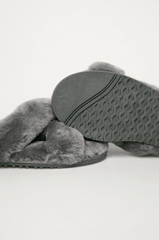Answear Lab - Papuci de casa gri