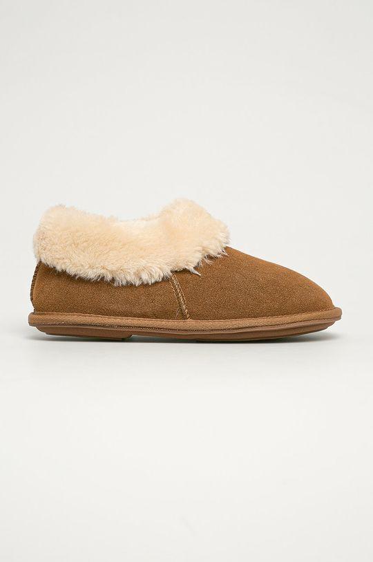 bej Answear - Papuci de casa Answear Lab De femei