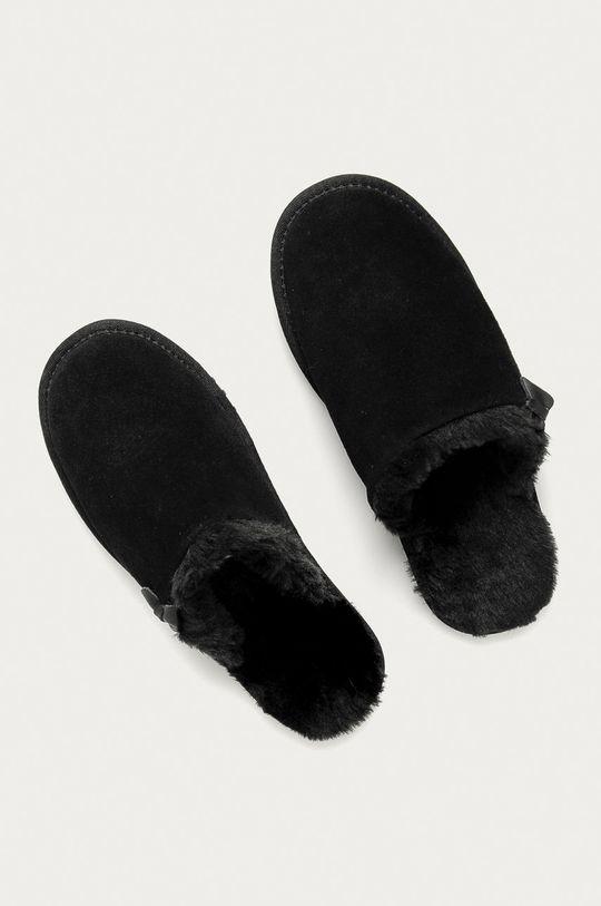 Answear Lab - Papuci de casa negru