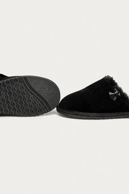Answear Lab - Papuci de casa  Gamba: Piele naturala Interiorul: Material textil Talpa: Material sintetic