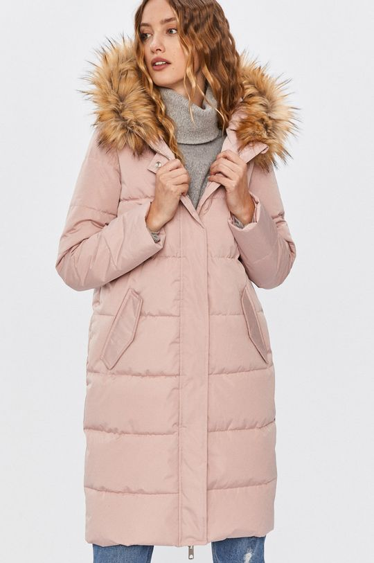 pastelová ružová Answear - Bunda Answear Lab