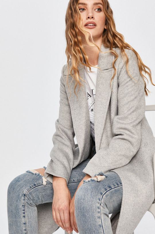 sivá Answear - Kabát Answear Lab Dámsky