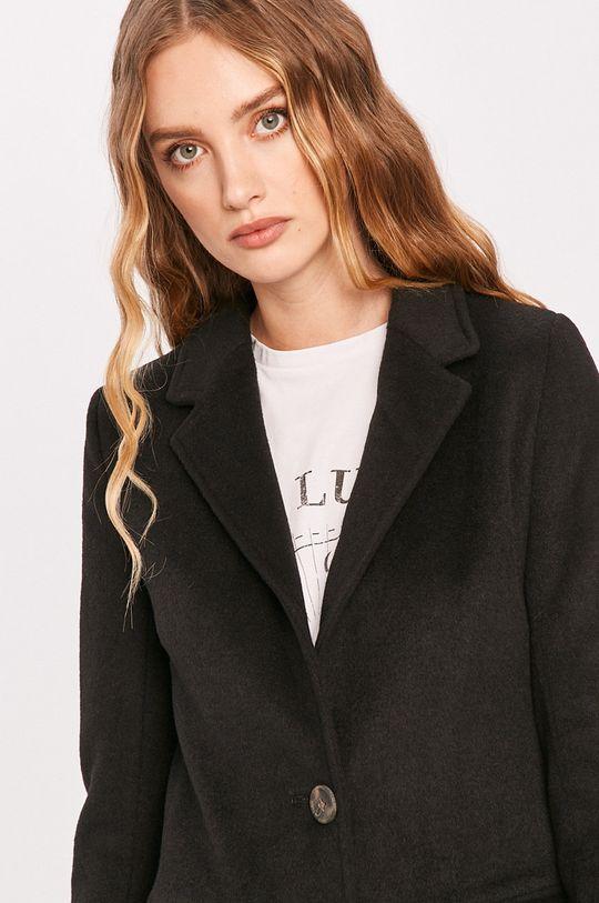 čierna Answear - Kabát Answear Lab