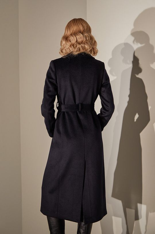 answear.LAB limited collection - Palton bleumarin
