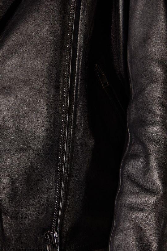 Answear.LAB limitovaná kolekcia - Kožená bunda  100% Prírodná koža
