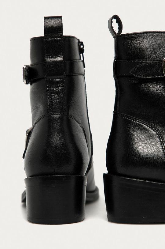 Answear - Cizme de piele Answear Lab  Gamba: Piele naturala Interiorul: Material textil, Piele naturala Talpa: Material sintetic