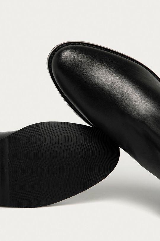 negru Answear - Cizme de piele Answear Lab
