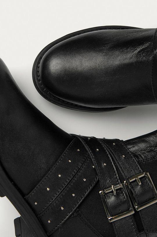 Answear - Kožené členkové topánky Answear Lab Dámsky