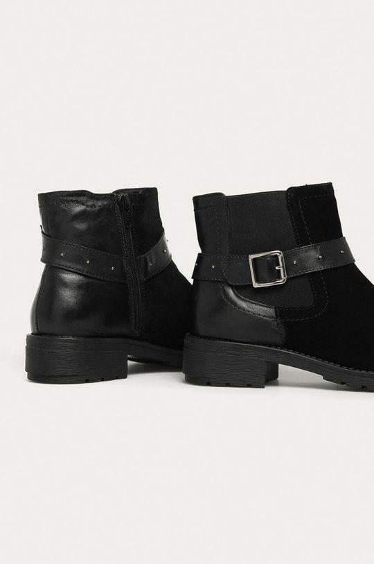 Answear - Kožené kotníkové boty Answear Lab  Svršek: Přírodní kůže Vnitřek: Umělá hmota, Textilní materiál Podrážka: Umělá hmota