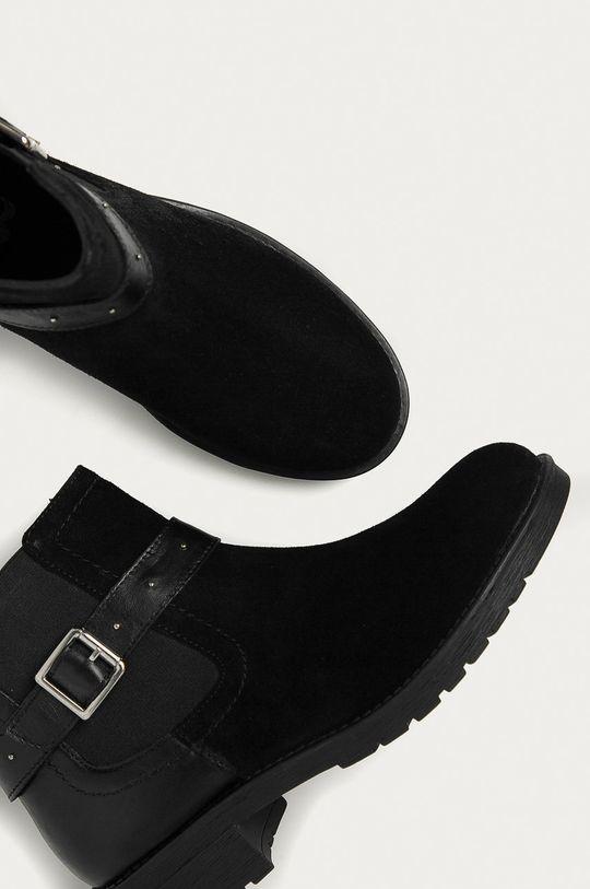 Answear - Kožené kotníkové boty Answear Lab Dámský