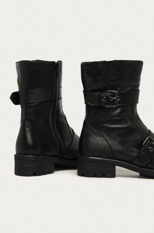 Answear - Kožené členkové topánky Answear Lab  Zvršok: Prírodná koža Vnútro: Syntetická látka, Textil Podrážka: Syntetická látka