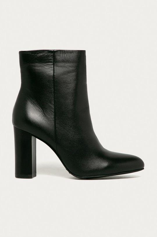 negru Answear - Cizme de piele Answear Lab De femei