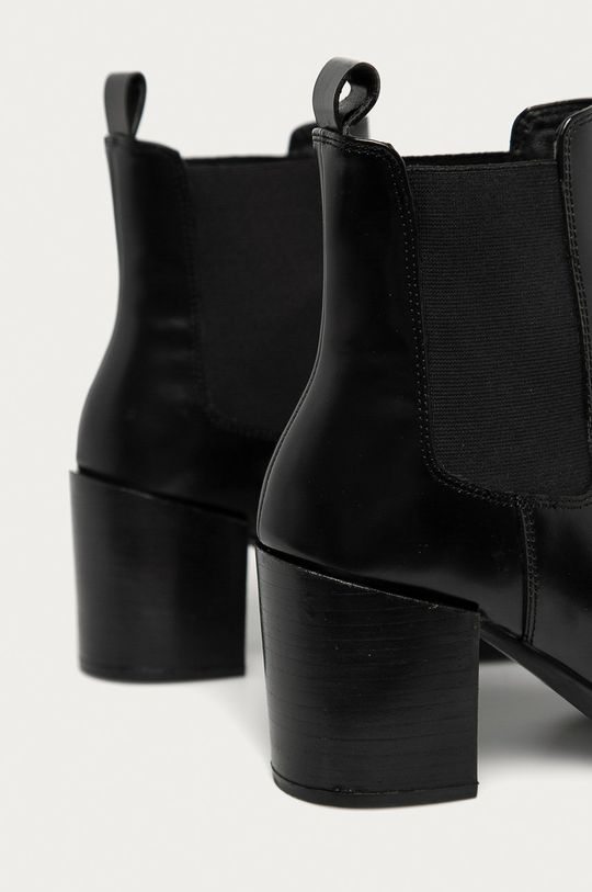 Answear - Ghete Chelsea de piele Answear Lab negru