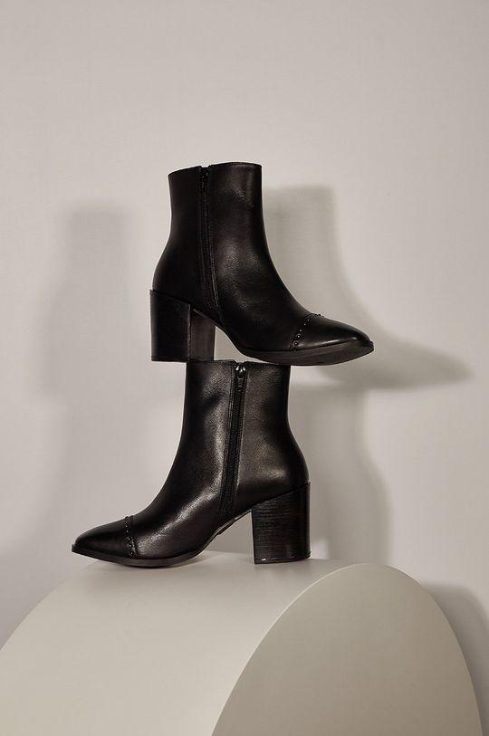 Answear - Kožené členkové topánky Answeara Lab Dámsky