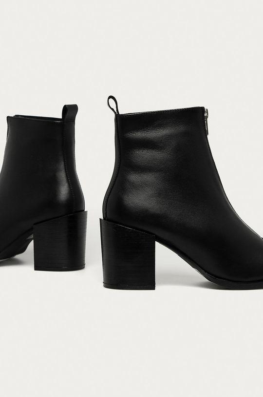 Answear - Kožené kotníkové boty Answear Lab  Svršek: Přírodní kůže Vnitřek: Textilní materiál, Přírodní kůže Podrážka: Umělá hmota