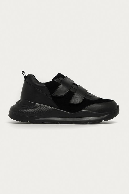 čierna Answear - Kožená obuv Answear Lab Dámsky