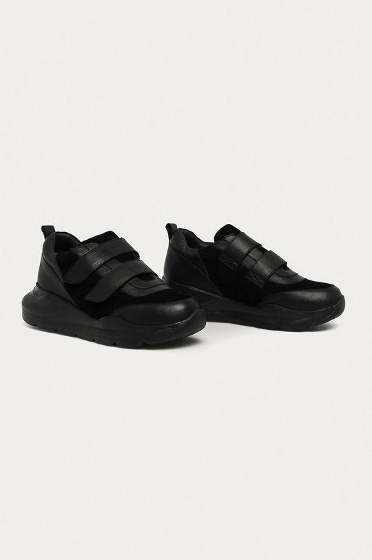 Answear - Kožená obuv Answear Lab čierna