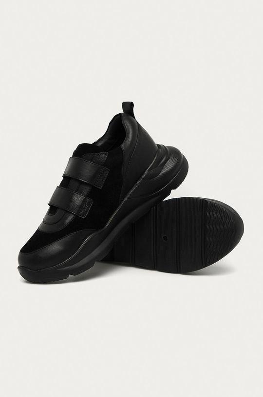 čierna Answear - Kožená obuv Answear Lab