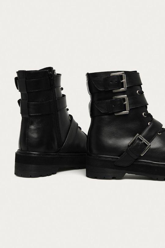 Answear - Kožené členkové topánky Answear Lab  Zvršok: Prírodná koža Vnútro: Textil, Prírodná koža Podrážka: Syntetická látka