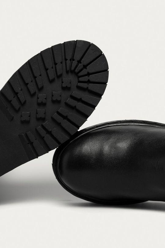 fekete Answear Lab - Bőr csizma