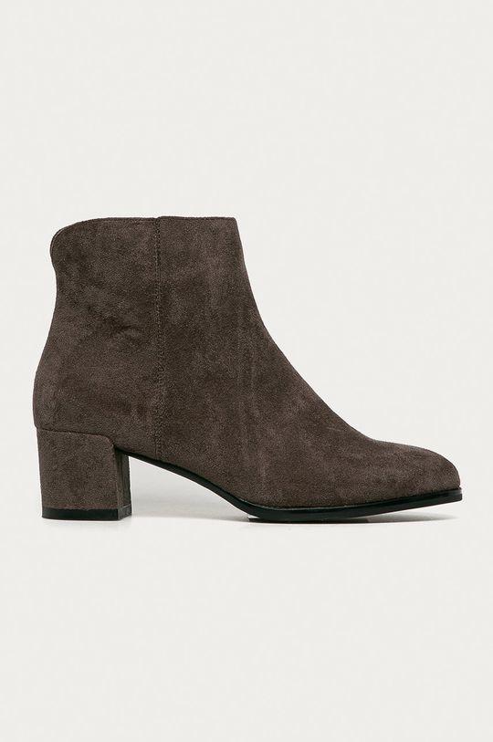 sivá Answear Lab - Členkové topánky Sergio Leone Dámsky