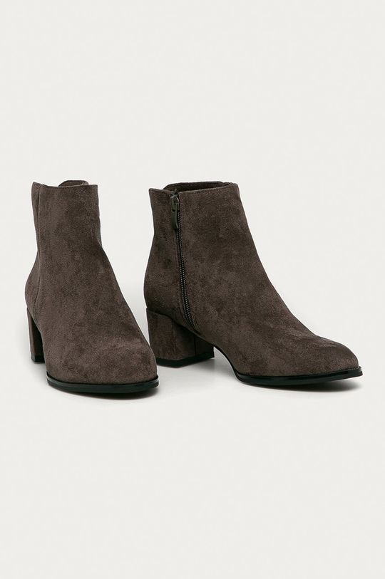 Answear Lab - Členkové topánky Sergio Leone sivá