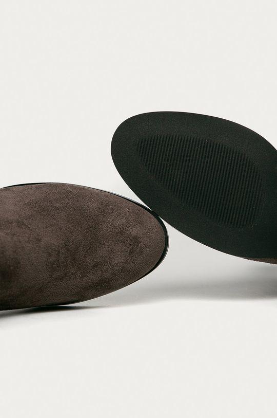 sivá Answear Lab - Členkové topánky Sergio Leone