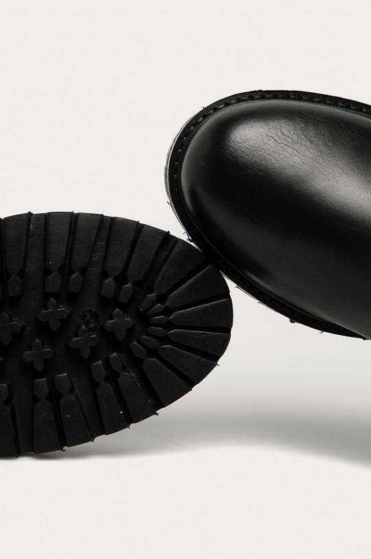 Answear - Ghete Chelsea de piele Answear Lab  Gamba: Piele naturala Interiorul: Material textil, Piele naturala Talpa: Material sintetic