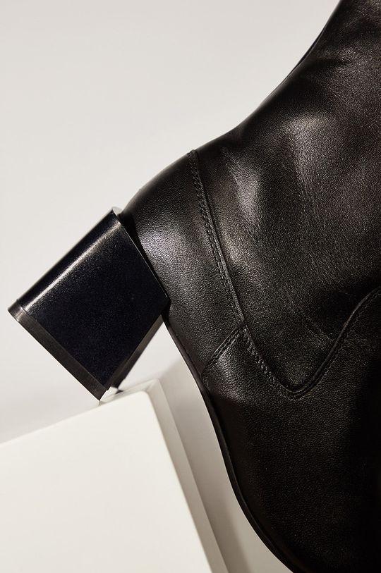 Answear.LAB limitovaná kolekce - Kožené kotníkové boty Dámský