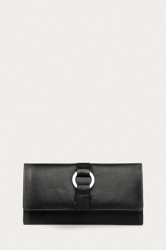 negru Answear Lab - Portofel de piele De femei
