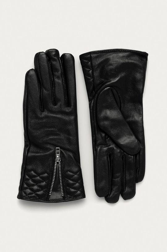 negru Answear Lab - Manusi de piele De femei