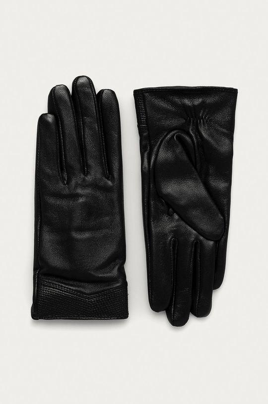 černá Answear Lab - Dětské rukavice Dámský