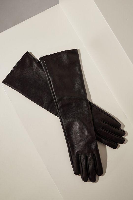 negru Answear - Manusi de piele answear.LAB limited collection De femei