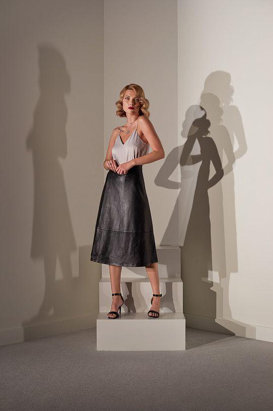 Answear.LAB limitovaná kolekcia - Kožená sukňa Dámsky