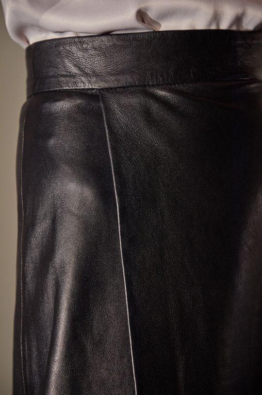 Answear.LAB limitovaná kolekcia - Kožená sukňa