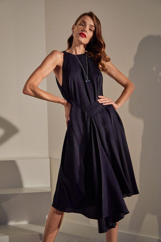 albastru metalizat answear.LAB limited collection - Rochie De femei