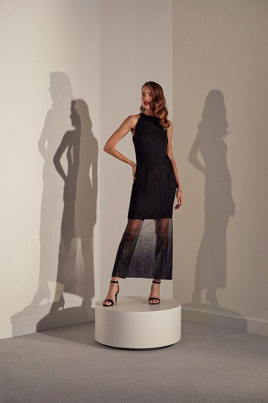 Answear.LAB limitovaná kolekce - Šaty černá