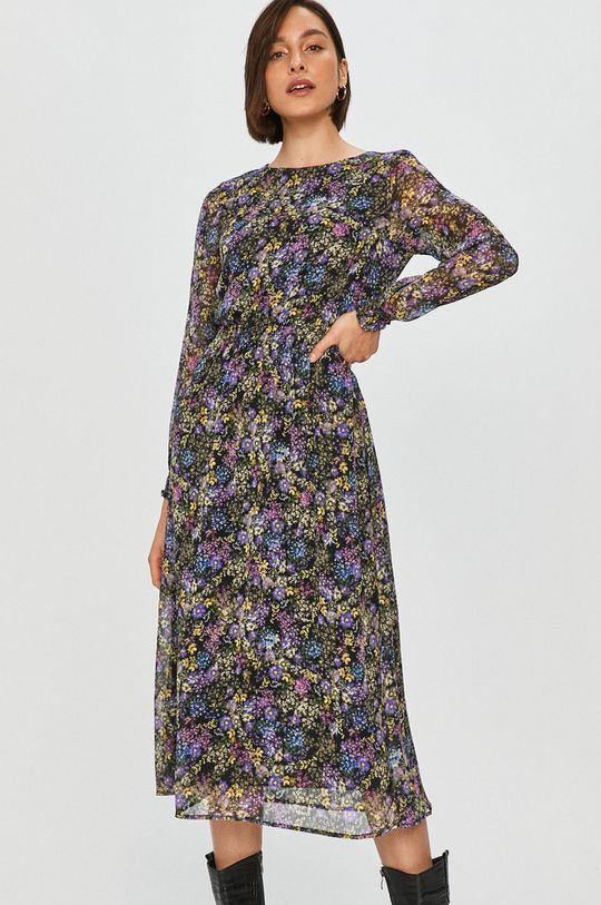 Answear Lab - Sukienka fioletowy