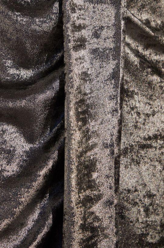 stříbrná Answear.LAB limitovaná kolekce - Šaty