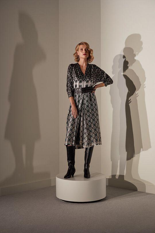 Answear.LAB limitovaná kolekcia - Šaty viacfarebná