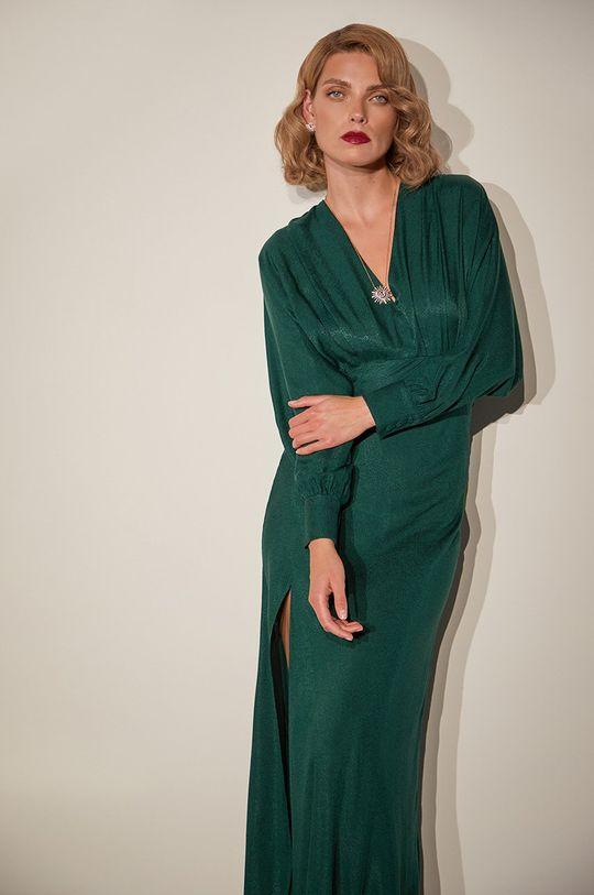 zelená Answear.LAB limitovaná kolekcia - Šaty Dámsky