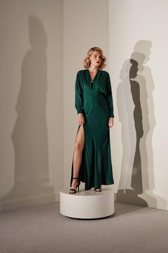 Answear.LAB limitovaná kolekcia - Šaty zelená