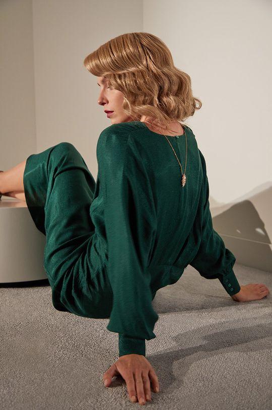 zelená Answear.LAB limitovaná kolekcia - Šaty