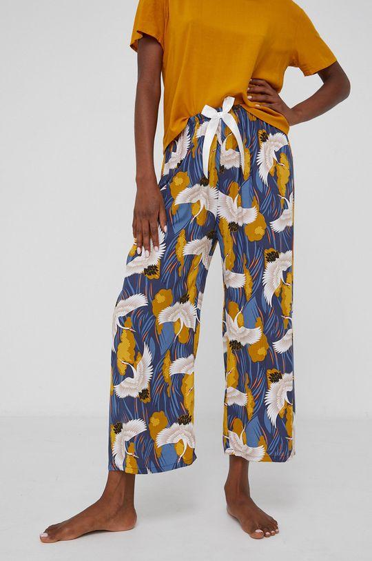 žlutá Answear Lab - Pyžamo