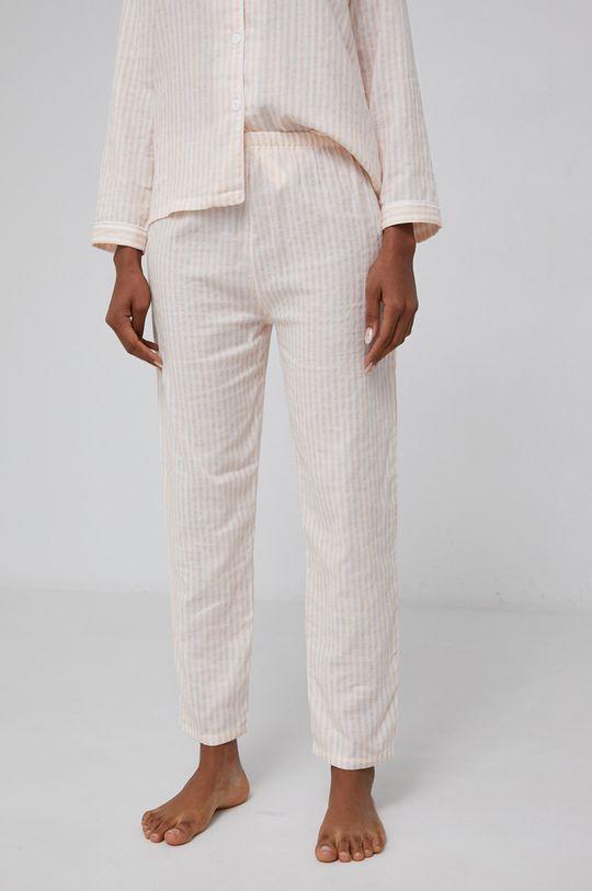 Answear Lab - Komplet piżamowy 100 % Bawełna