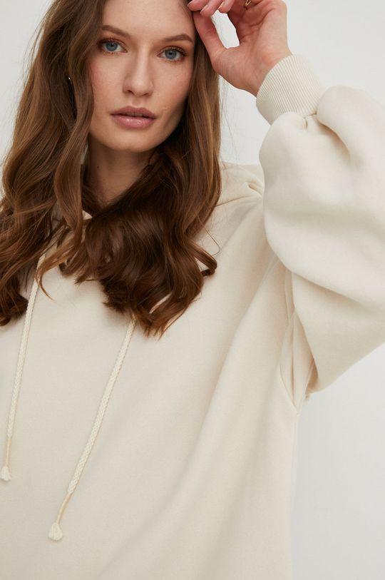 kremowy Answear Lab - Bluza